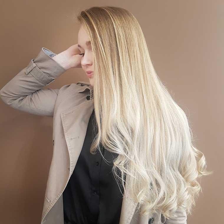 KS Friseur, Balayage trotz kaputtem Haar?